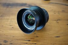 Cinevised ZEISS Distagon T 25mm f/2.8 ZF Lens modified for CANON