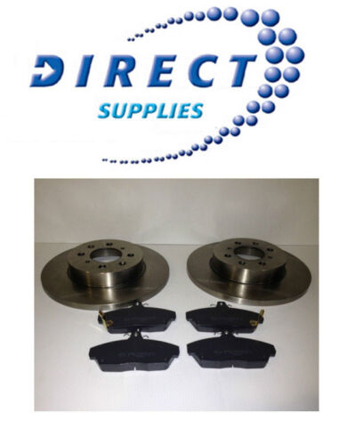 ROVER 25 45 200 400 SOLID FRONT BRAKE DISCS AND PADS *FAST DELIVERY*