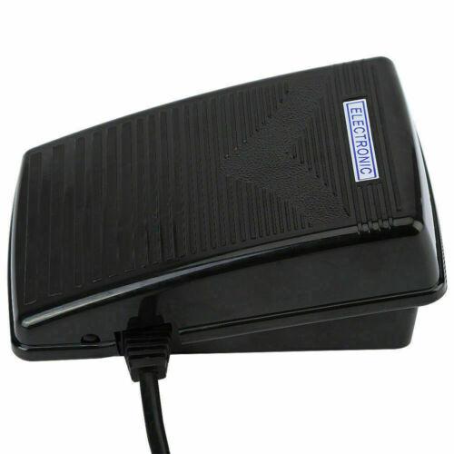 Fußanlasser Anlasser Fußpedal passend für Universal Nähmaschine mit Netzkabel WT