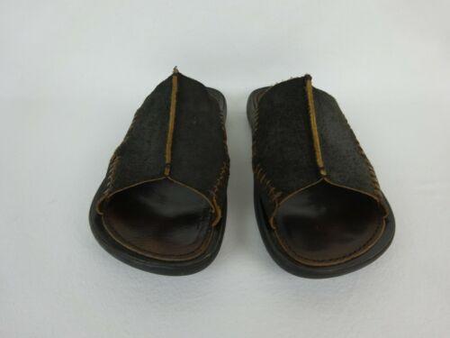 Donald J Pliner Maro Sandals ~ Black Suede Leather