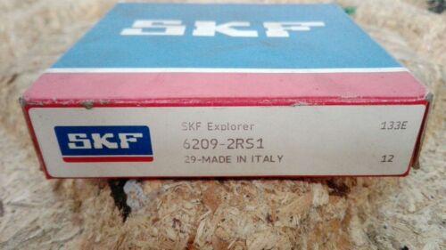 45x85x19mm NEU//OVP Typ SKF 6209-2RS1 Rillenkugellager