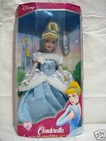 Cinderella Brass Key Porcelain Holiday Edition Doll 2003