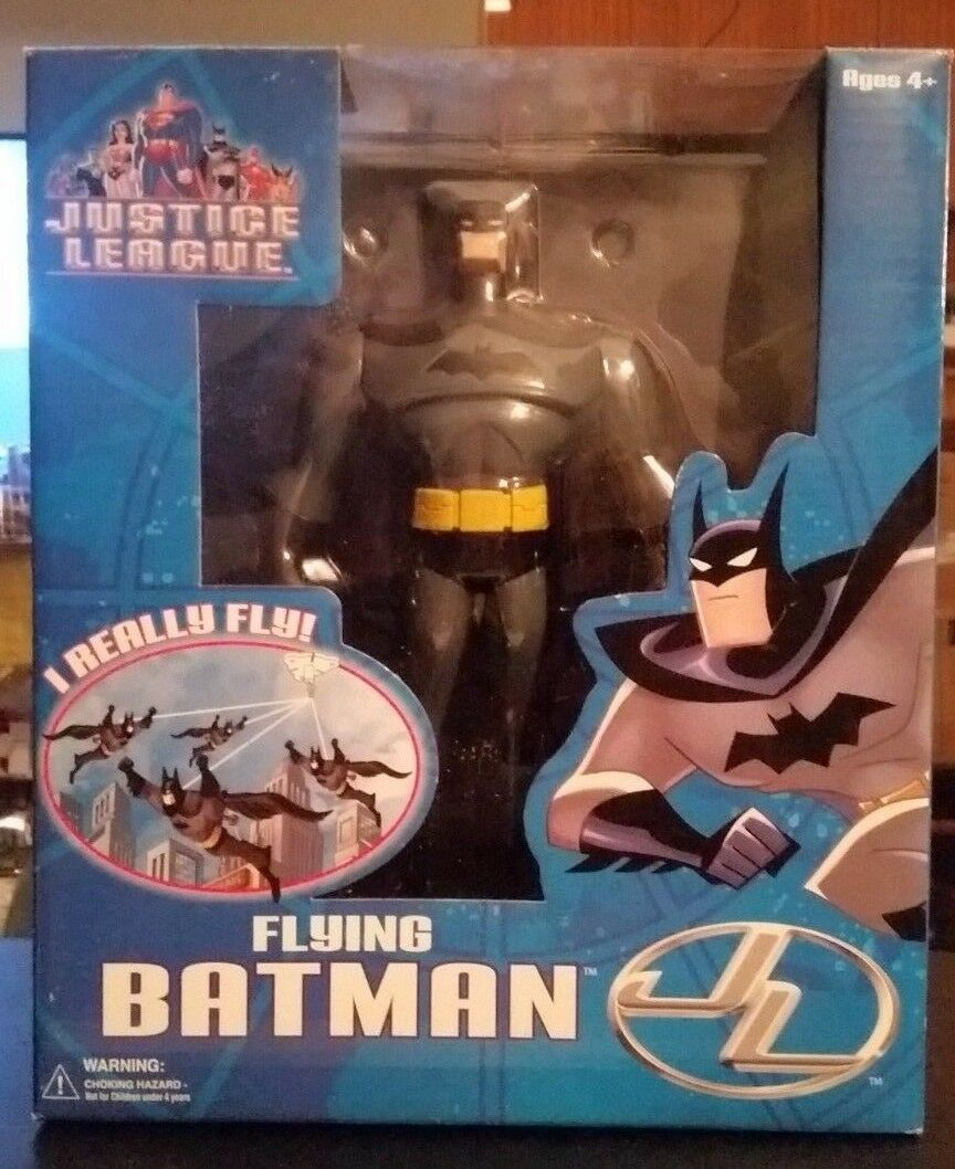 Fliegende batman, justiz - liga, fusion, spielzeug, 2003