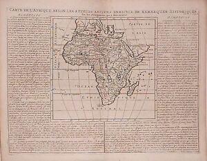 Carte De Lafrique Antique.Details About Antique Map Carte De L Afrique