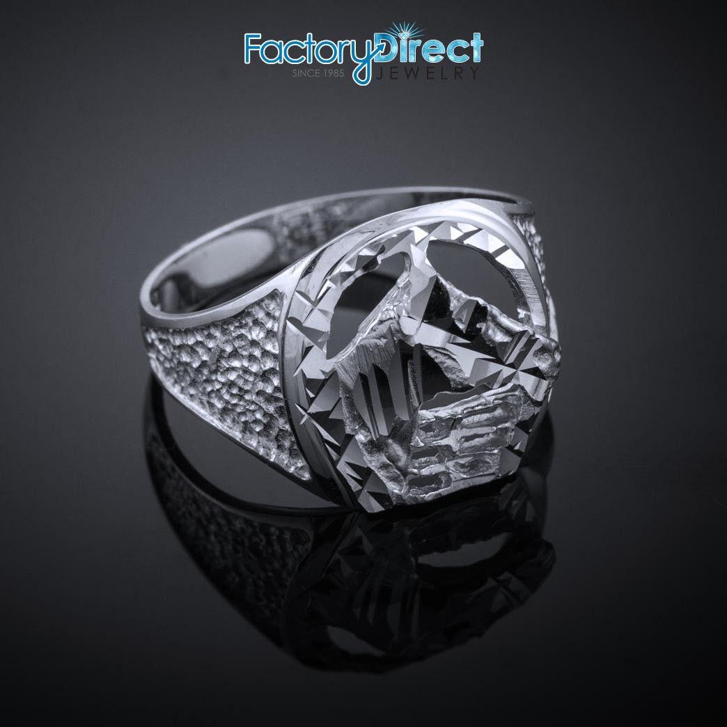 c631edf6a8591 with Head Horse gold White Horseshoe Ring Cut Diamond nchyb78714420 ...