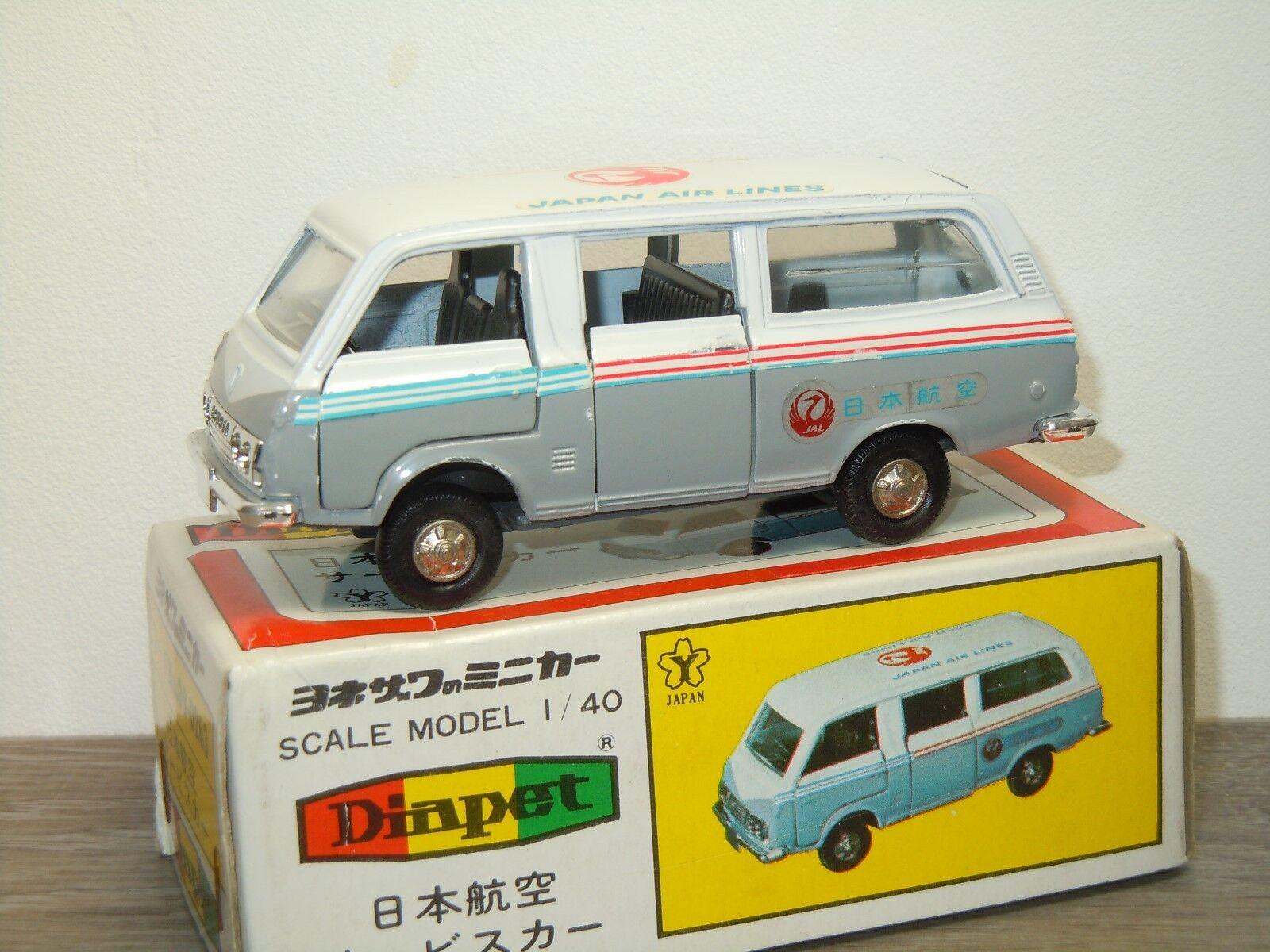 Toyota Hiace Japan Air Lines - Diapet Yonezawa Toys Japan  1 40 in Box 33001  profitez d'une réduction de 30 à 50%