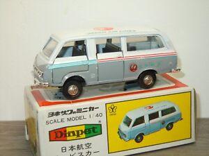 Toyota-Hiace-Japan-Air-Lines-Diapet-Yonezawa-Toys-Japan-1-40-in-Box-33001