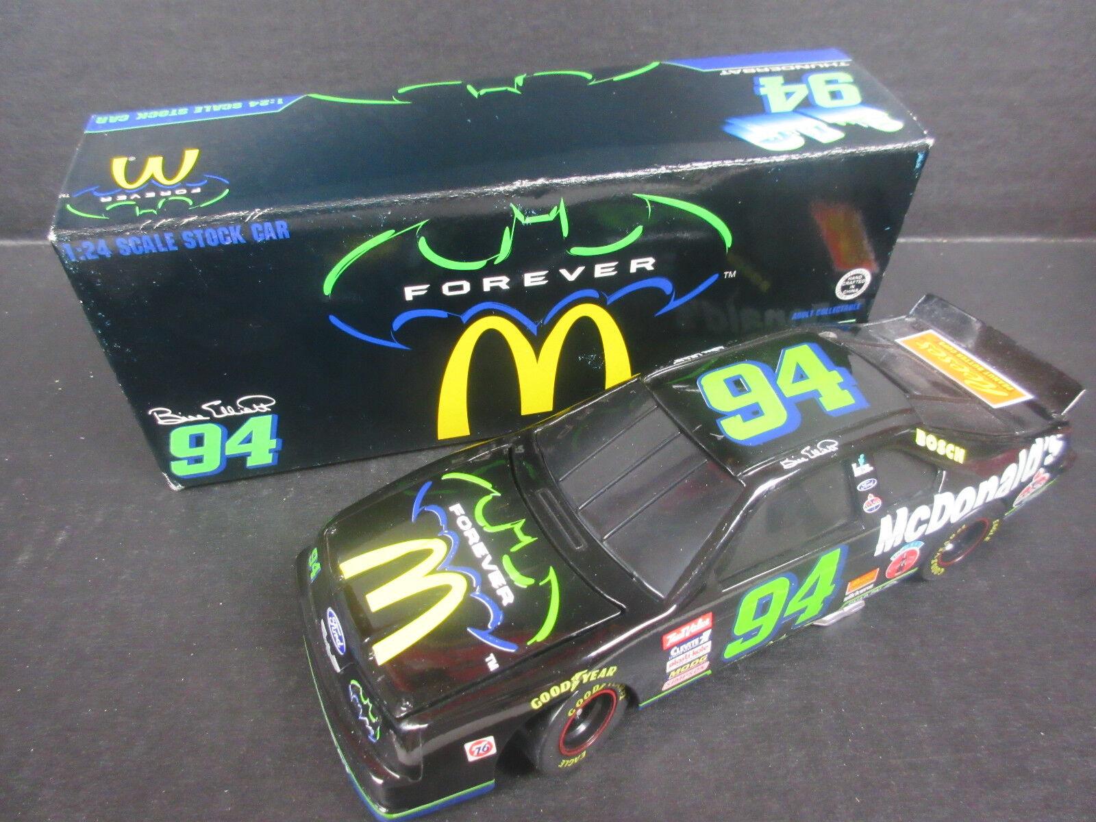1995 Action  94 Bill Elliot--McDonald's/Thunderbat Bank Car 1/24th scale
