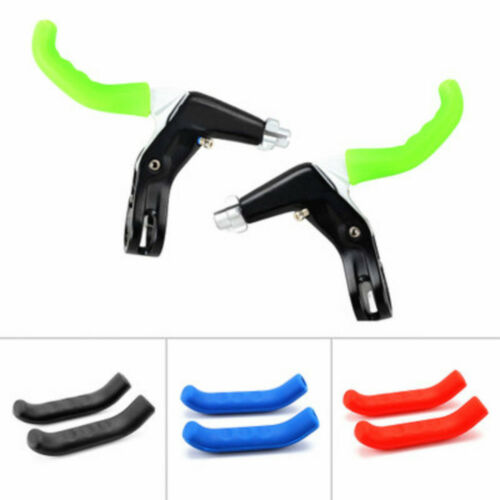 1 Pair Bicycle Brake Lever Protector Mountain Bike Protector Protective Handle-.