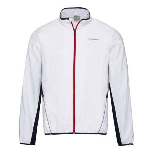 HEAD Herren Club Jacket  Trainingsjacke weiß NEU