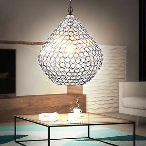 led 10 w pendel kristall kugel decken leuchte alt messing esszimmer h nge lampe ebay. Black Bedroom Furniture Sets. Home Design Ideas
