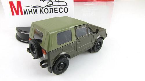 Vaz-2122 USSR Soviet Auto Legends Diecast Model DeAgostini 1:43 #91