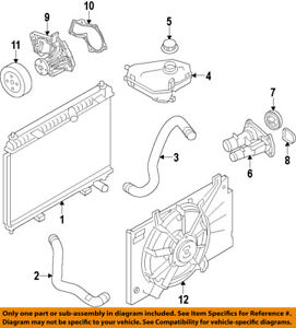 image is loading ford-oem-11-18-fiesta-engine-coolant-thermostat-