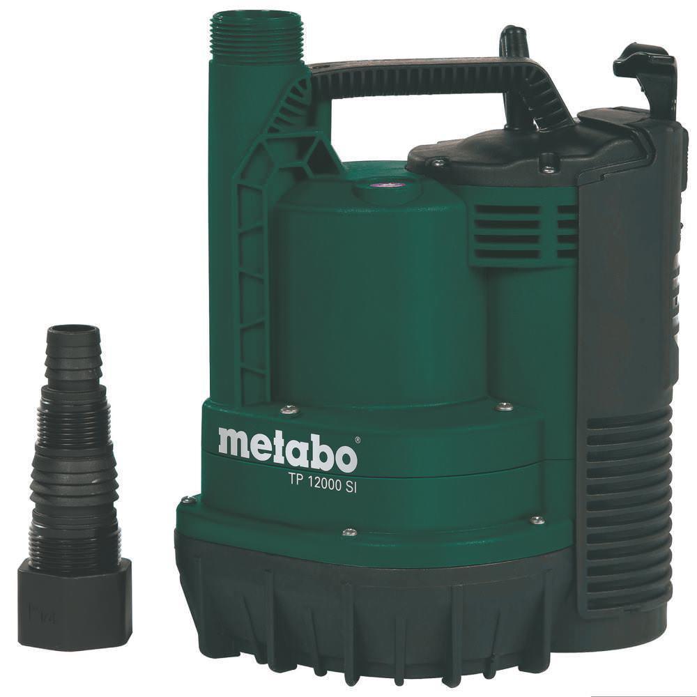 Metabo piatto aspirante POMPA SOMMERSA TP 12000 si 600 Watt