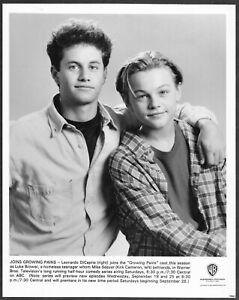 Leonardo-Dicaprio-Crescita-Dolori-Originale-1991-Promo-Foto-Kirk-Cameron