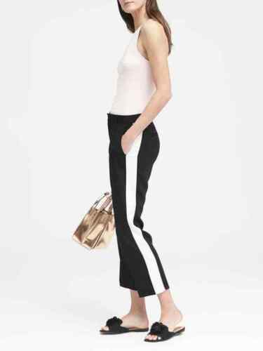 Nwt Avery 00 Republic 280975 Tuxedo Spring 2018 Banana Stripe 98 Long 2 Pants TBFCwqxn