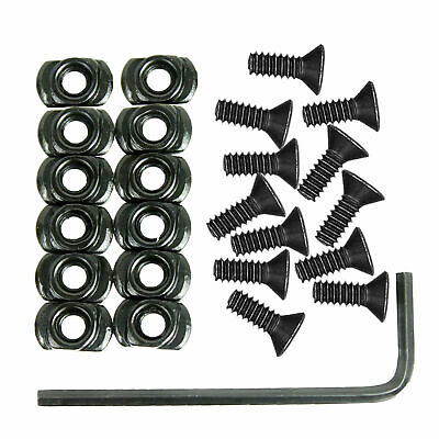 10 Pack M-LOK Screw and Nut Replacement Set for MLOK Handguard Rail Sections SD