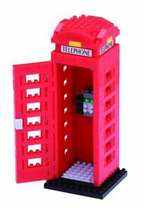 Nanoblock-Mini-Sites-to-See-Series-by-Kawada-London-Telephone-Box-NBH-125-NEW