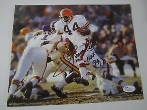 Cleveland Browns Leroy Kelly Signed Photo 8x10 Coa Excellent Quality In