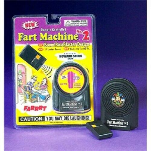 Makes Hilarious Sounds! Fart Machine Number 2 Remote Controlled Great Fun