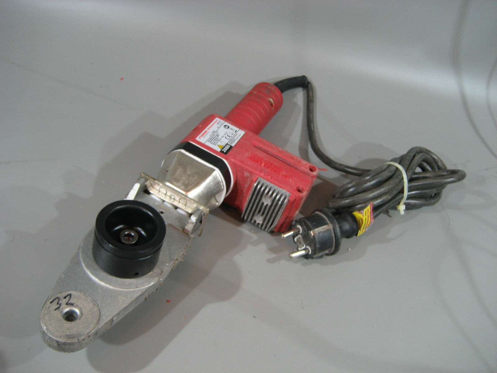 Rothenberger Muffenschweißgerät 650 W + 32 mm PVC Kunsstoffrohr Schweißtopf