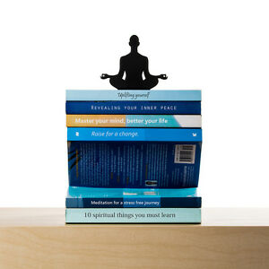ARTORI Design Levitation Book Stacker Bookend Stand Holder Yoga Meditation