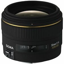 Sigma 30mm f1.4 EX DC HSM Digital Lens For Canon