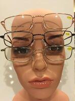 2 Pair / $6.99 Reading Glasses Spring Hinge / Wire Frame / 1.50 - 3.50