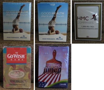 5 decks Playing Cards - Kaiser Permanente Health Care ...