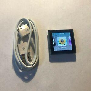 Apple Ipod Nano 6th Generation Graphite 8 Gb Bundle Great Condition Ebay