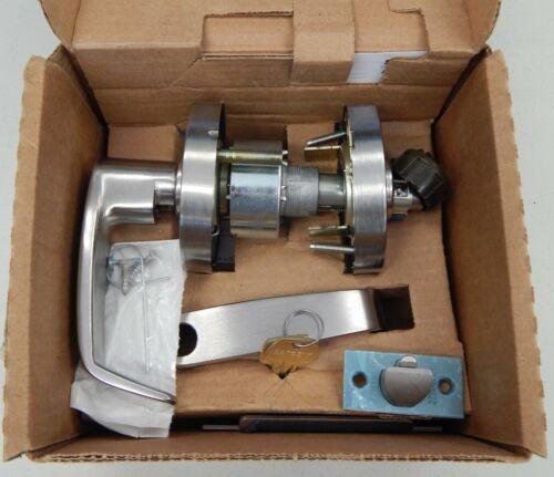"""LA Keyway 2 Keys Details about  /Sargent 10G05 L 26D Grade 1 Lever With Cylinder 2-3//4/"""" Backset"""