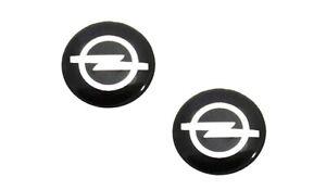 2 x 14mm MITSUBISHI Replacement Key Fob Badge Sticker