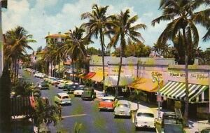 Image Is Loading Postcard Worth Avenue Palm Beach Florida