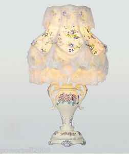 European-Style-E27-Width-30CM-Height-50CM-Resin-Fabric-Bedroom-Table-Lamp-A
