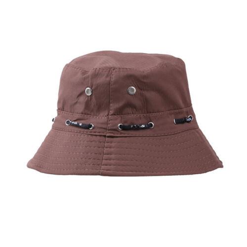 Man/'s Women/'s Hat Bucket Fisherman Camping Hiking Outdoor Hat Can Fold Cap