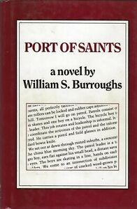 WILLIAM S. BURROUGHS PORT OF SAINTS JOHN CALDER 1983 FIRST BRITISH EDITION HC/DJ