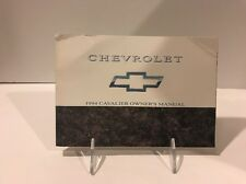 1994 94 Chevrolet Chevy Cavalier Factory Owners Manual Guide Book - (pbh)