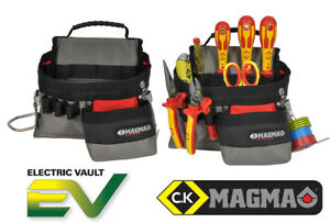CK Magma MA2717A Electricians Work Tool Pouch For Screwdrivers, Pliers