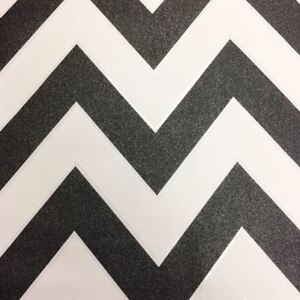 Image Is Loading Glitter Chevron Zig Zag Wallpaper White Amp Black