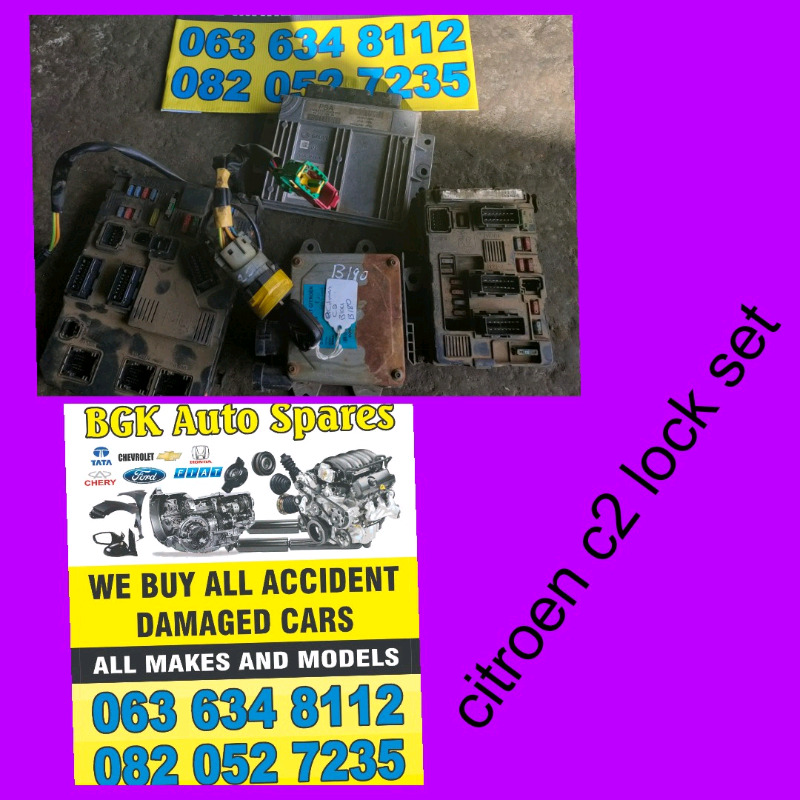 Citroen c2 lock set R6500