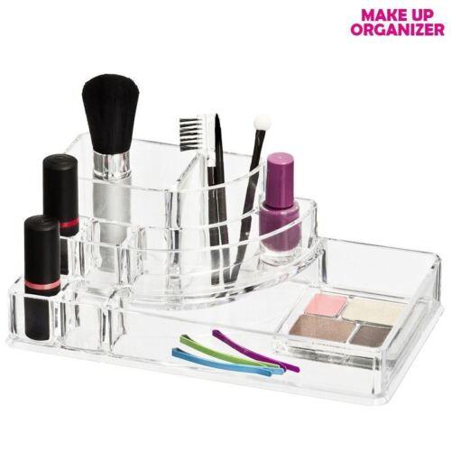 Beauté Organisateur Acrylique Clair maquillage cosmétique titulaire Case Bijoux Stockage