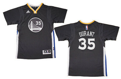 Kevin Durant Golden State Warriors #35 Blue Kids Short Sleeve Player Name /& Number Performance Jersey