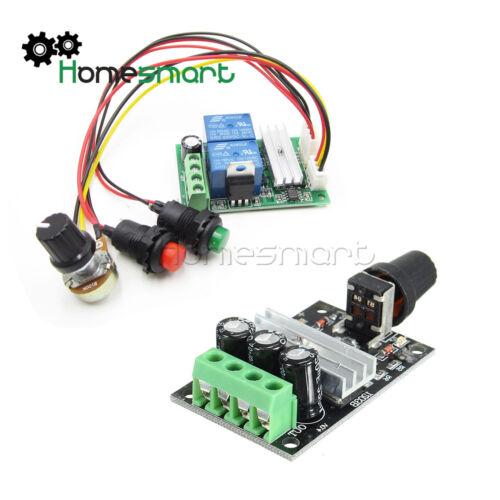 DC 6V-24//28V 3A PWM Motor Speed Varible Regulator Controller Switch AHS