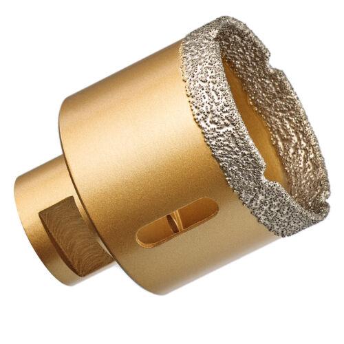 GraniFix® Ø 60 mm Diamantbohrer M14 Bohrkrone Fliesenbohrer Trockenbohrer Granit