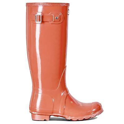 Hunter Original Tall Gloss Sunset Womens Boots