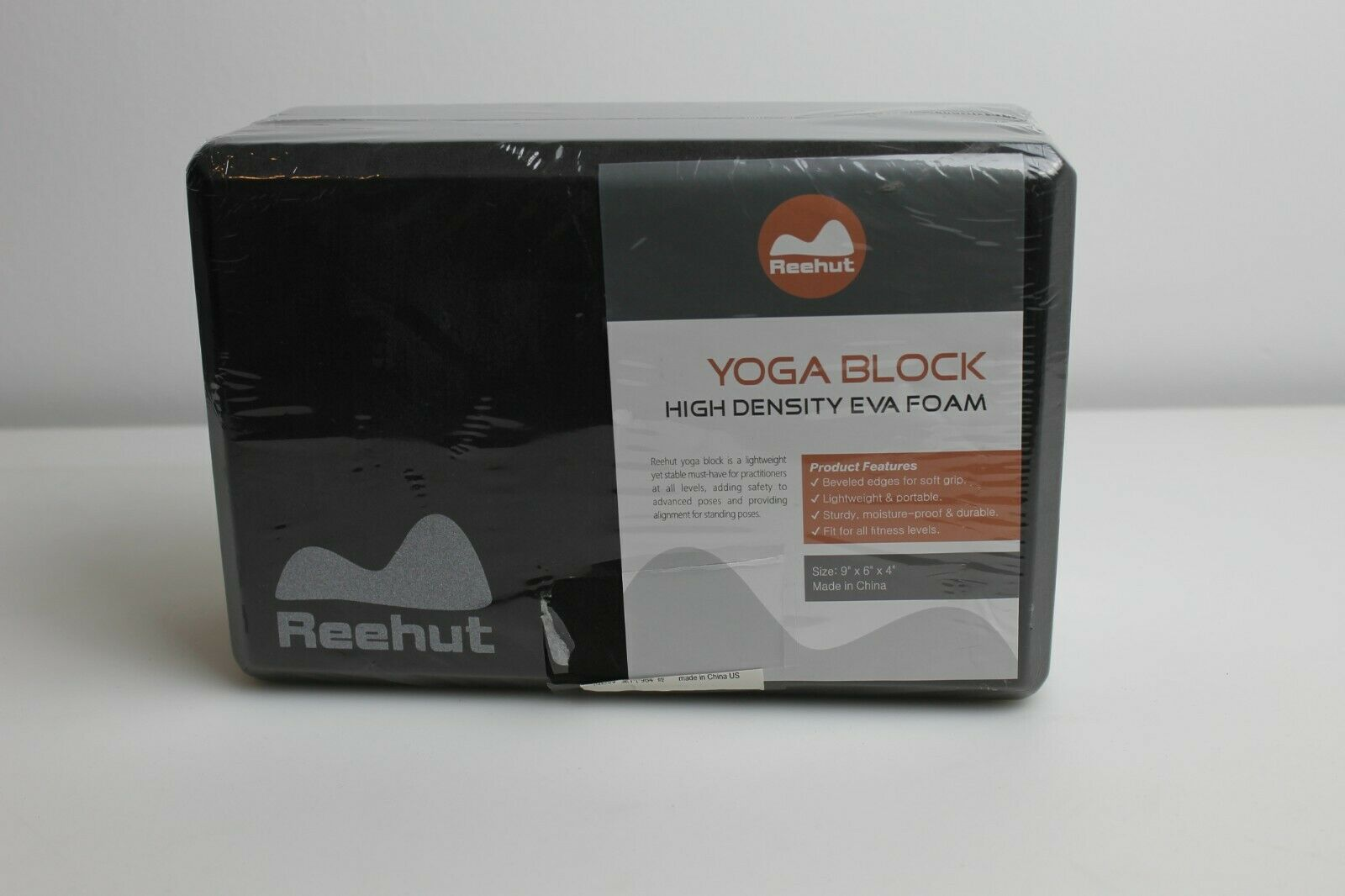 Reehut Foam Yoga Block Pilates Supportive High Density EVA Foam Yoga Brick