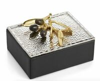 Michael Aram Olive Branch Jewelry Box Trinket Box Hard To Find -
