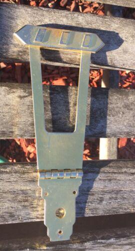 Es175 Tailpiece Trapeze GOLD  AGED fits Vintage GIBSON Restore JVGuitars SALE!