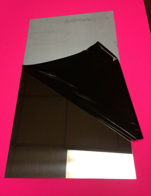 "16ga .065 304 #8 Stainless Steel Sheet Plate Mirror Finish 12/"" x 36/"""