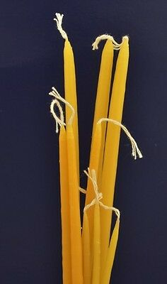 Orthodox Church Greek Beeswax Natural Candles (1 kg) Honey Brown Coloured